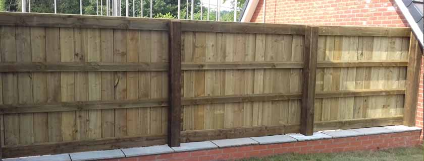 post and panel fence - How to Protect Your Fence During Winter